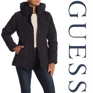 Guess Puffer Hooded Jacket
